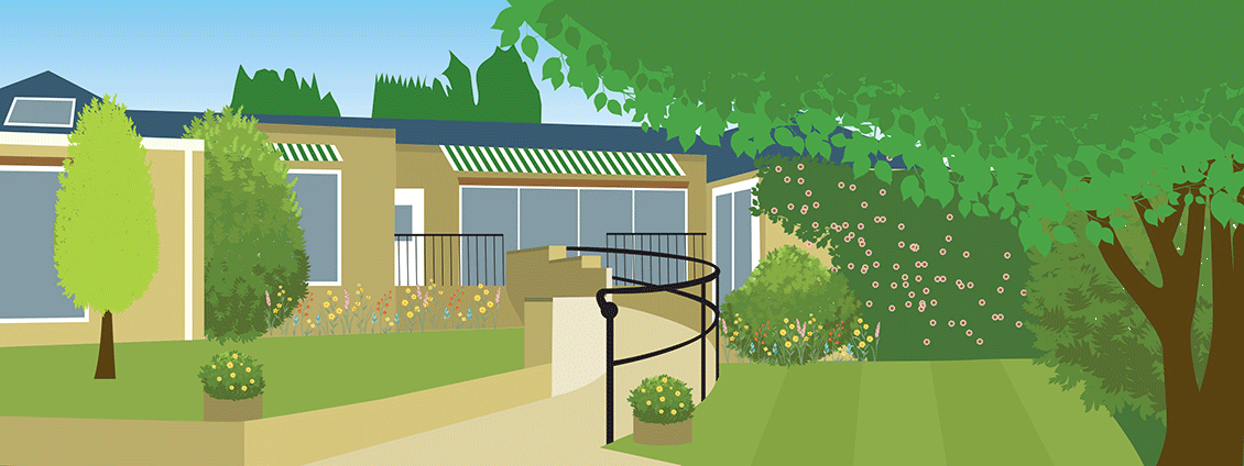 Illustration of Garden House Residential Care Home Sherborne